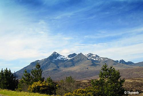 The Cuillin Mountains