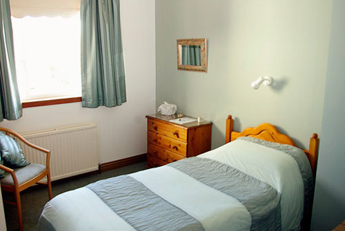 Single room with ensuite facilities